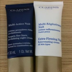 Clarins Night Cream Pair